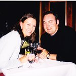 Our first dinner at Cafe Fiore on our honeymoon, Feb 2005