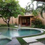 beautiful grounds of villa 6