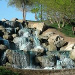 Waterfall on golf course
