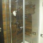 Good water pressure shower
