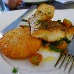 Pan-fried grouper
