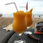 Mango Shake by the Beach