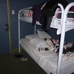 """2 single bed room"" BUNK BEDS! :("