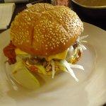 una real hamburguesa casera