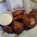 Bourban BBQ wings- breaded