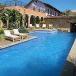 Pool at Hotel Spa Granada