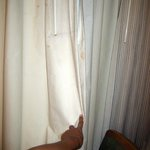 stained curtains, eww!