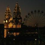 Luna Park after dark