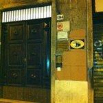 Front door of the Chocolat Inn