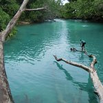 Blue Lagoon Swimming Hole Fresh and Saltwater
