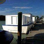 Docked Houseboats