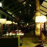 Atrium dinning area