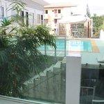 Вид на бассейн
