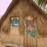 One of the lovely huts