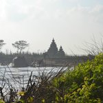 View of Shore Temple from Hotel's Lawn