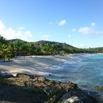 Galley Bay Beach - looks like this all day - NO crowds!