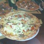 La pizza!Buonissima