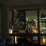 lo sky line dalla nostra camera