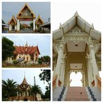 the Entry and some of the buildings of Wat Chalong