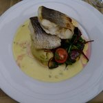 Beautiful hake dish