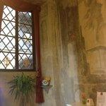 Interior with fresco's