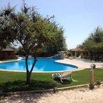 la piscina exterior