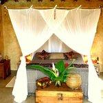 """Quarto maravilhoso da suíte """"Terra Bali'"""