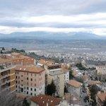 Panorama visto dall'albergo