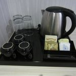 Coffee & tea facility in room