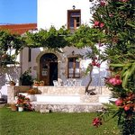 Guest House of Ismini Apartments in Kalives at Crete island
