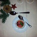 Kerst bloedsinaasappel sorbet