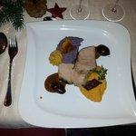 Kerst gebraden kalfsvlees