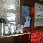 free tea & coffee