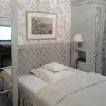 Camera singola, ma con ampio letto