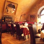 interior of 7 Angels restaurant