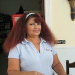Gabby--front desk clerk