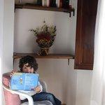 Un angolo per un pò di lettura in pieno  relax