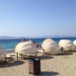Beach pods!