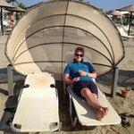 Cool beach beds
