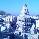 view of jagadish temple from roof top