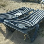 Déception chaise de plage