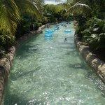 piscina circuito de flotadores