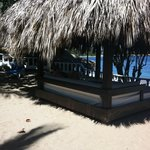 Our king sized beach bed..zzzzzz