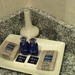 toiletries ...