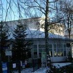 Hotel Waldperle,mit anschließendem Eingang zum Rhododendronpark