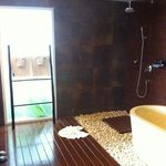 salle de bain chambre cosy