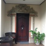 entrance to my villa