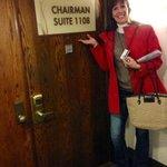The Chairman's Room was nice!