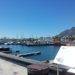 View to the V&A Waterfront