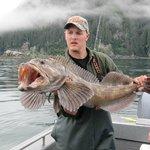 Ling Cod in Alaska